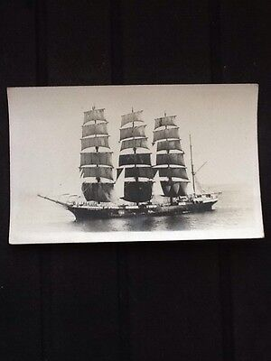 Tall Sailing Vessel Archibald Russell old postcard