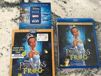 The Princess And The Frog HD Digital Code ONLY Disney