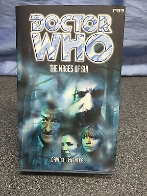 Doctor Who: The Wages of Sin by David A. McIntee (1999 Paperback)