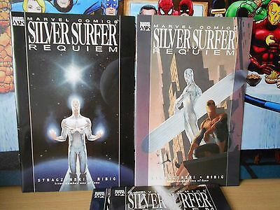 Marvel Knights - Silver Surfer Requiem Limited Series Nm