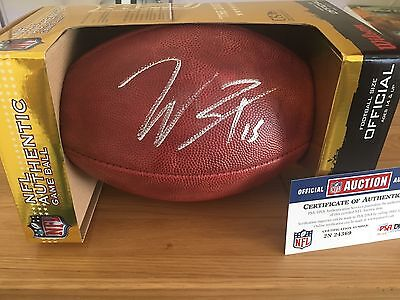 Will Fuller Signed NFL Gameday Football
