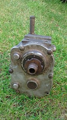 Vintage Triumph Model P Motorcycle Gearbox Shell
