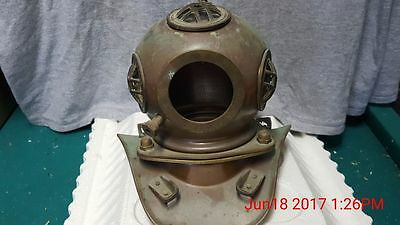 Minature Diving Helmet, brass