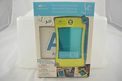 Jot 4.5 eWriter Reinventing Flashcards - 20 Letter Tracing Cards (2072)