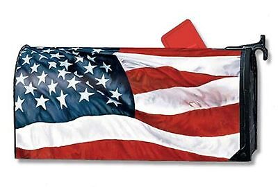 Stars & Stripes American Flag Magnet Mailbox Cover Great Decoration 4th of July