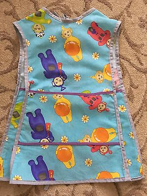Gorgeous Child's Handmade Teletubby Apron/tabard - Great Cover Up