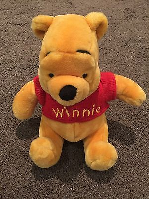 Winnie The Pooh Official Disney Parks Soft Toy - In Excellent Condition