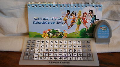 Cricut Cartridge - DISNEY'S TINKERBELL AND FRIENDS - Used -  No Box - NOT LINKED