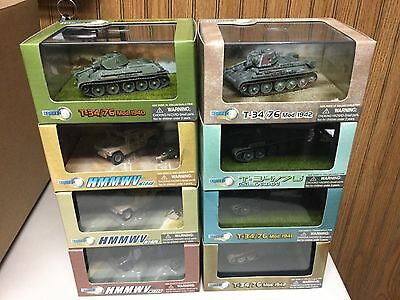 Dragon armor 1/72 lot of 8 all brand new.LOOK.