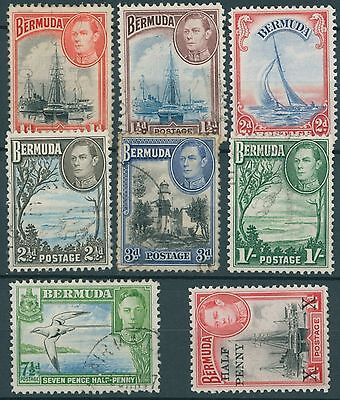 Bermuda GVI 1938 Selection
