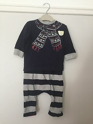 Next Boy's Two Piece Set Size 3-6 Months Brand new With Tags