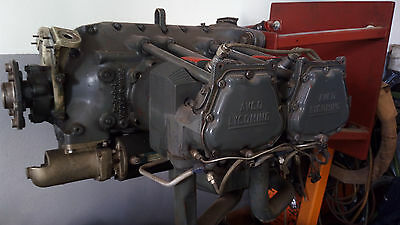Motor Engine Lycoming HIO 360 A1A mit 100h und Dokumenten 100 hours documents