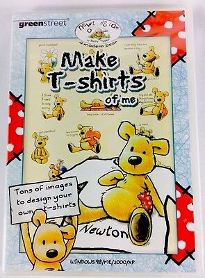 Newtons Law A Modern Bear Make T Shirts Of Me PC CD Rom Design Own T Shirts