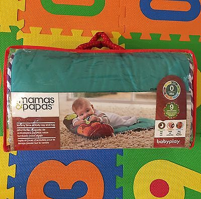 Mamas and Papas Tummy Time Activity Toy And Rug