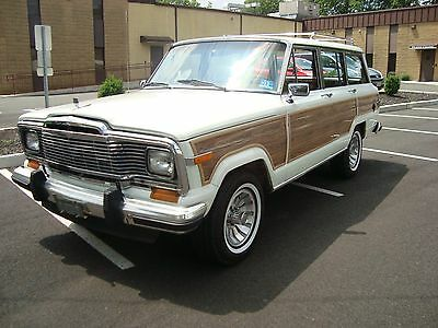 1984 Jeep Wagoneer  JEEP WAGONEER LIMITED ONE OF KIND A REAL ONE