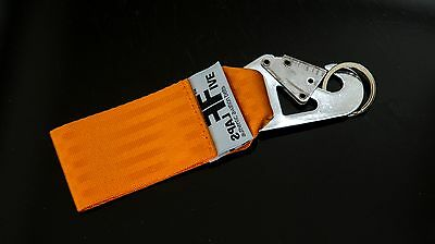 FlapsFive Schlüsselanhänger Safety KEY - BLACK OPS  - orange