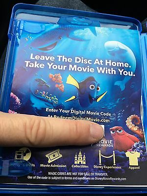 Finding Dory HD Digital Code ONLY Disney