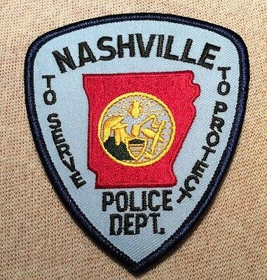AR Nashville Arkansas Police Patch