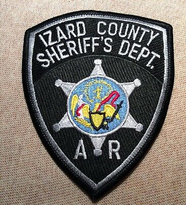 AR Izard County Arkansas Sheriff Patch