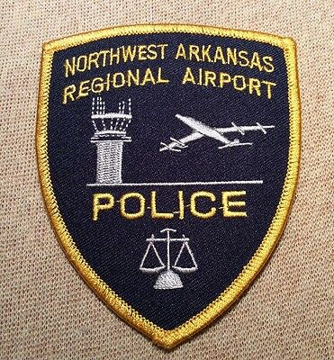 AR Northwest Arkansas Regional Airport Police Patch