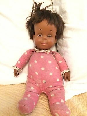 """Used 14"""" tall Mattel African American Drowsy Doll"""