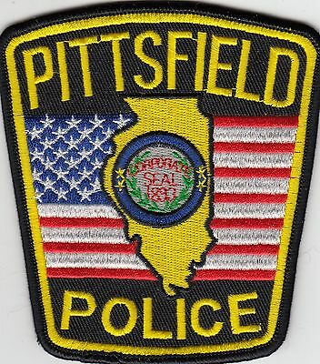 Pittsfield Illinois Il Police Shoulder Patch