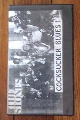 THE ROLLING STONES / COCKSUCKER BLUES VHS Rare