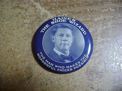 Haines The Shoe Wizard Advertising Pocket Mirror