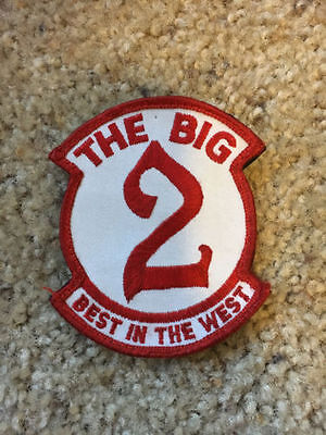 "Canada RCAF CAF 2 CFFTS The Big 2 Best in the West Crest Patch 3.5"" w/ backing"