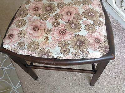 Antique Bedroom Chair With Makers Mark Stamped In