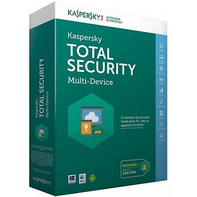 Kaspersky Total Security 2017 - 3 PC 1 anno - Licenza elettronica ESD