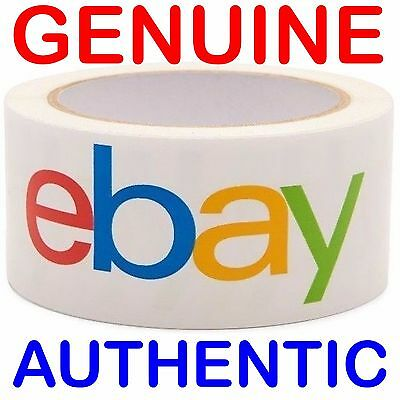 1 ROLL GENUINE AUTHENTIC Official eBay Branded BOPP Packaging Tape 2 MIL 2x75 *j