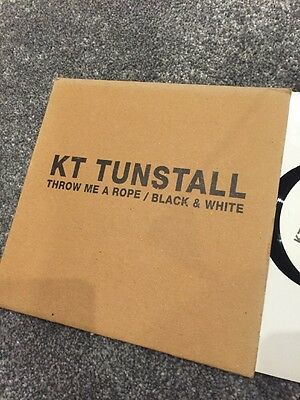 """KT Tunstall – Throw me a rope 7"""" DEBUT Vinyl single (2004) NEW RARE 500 only"""