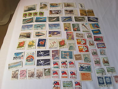 70+ Republic of China Stamps used