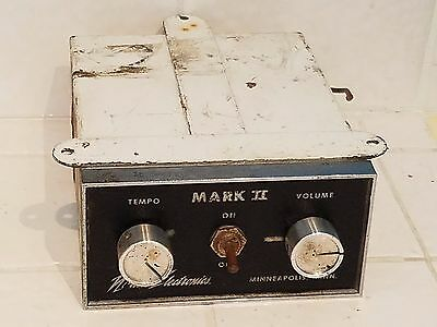 Rare Mark II Ice Cream Music Box Used Nichols Electronics Vintage Original