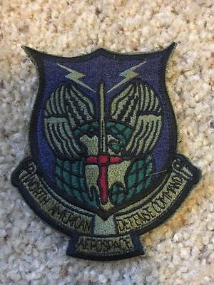 "NORAD North American Aerospace Defense Command Patch Crest Badge 4"" w/ backing"