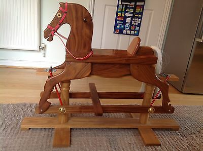 Handcrafted Bespoke Children's Rocking Horse