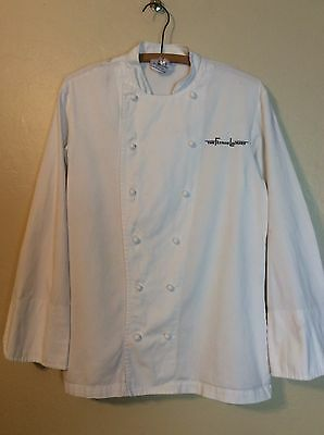 Famed The French Laundry Restaurant Chef's jacket coat Unisex Size Medium