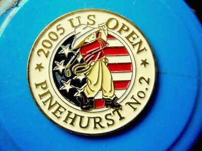 "2005 Us Open (Michael Campbell's Only Majors Title) 1"" Coin Golf Ball Marker"