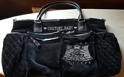 Juicy Couture Velour Baby Diaper Bag