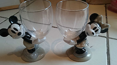Disney world pair of Mickey and Minnie Mouse glasses