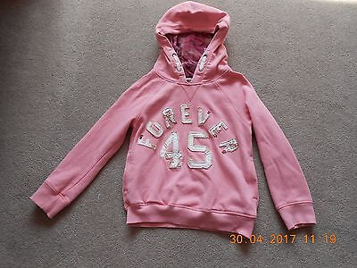 Next Girl's Pink Hoodie, Age 7 Years