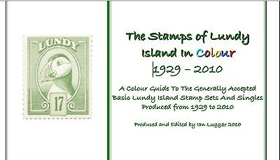 PDF Format The Stamps of Lundy Island In Colour 1929-2010