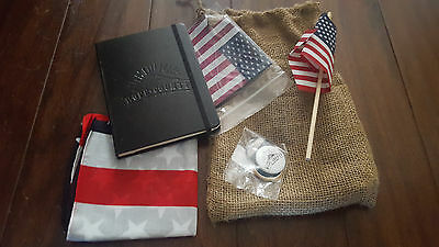 Far Cry 5 Announcement Event Swag Ubisoft E3 2017 FC5 Flag Koozie Notebook Pins