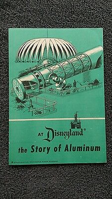 Vintage Disneyland 1955 The Story of Aluminum Booklet