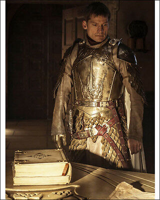 "Nikolaj Coster-Waldau 8"" X 10"" Photo Ser Jaime Lannister Game Of Thrones Actor"