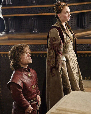 "Sophie Turner Peter Dinklage 8"" X 10"" Photo Sansa Stark Tyrion Game Of Thrones"