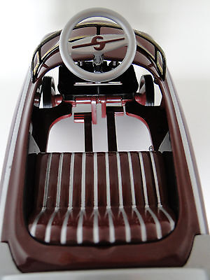 A Pedal Car 1940s Ford Custom Truck Pickup T Silver Grille Midget Model