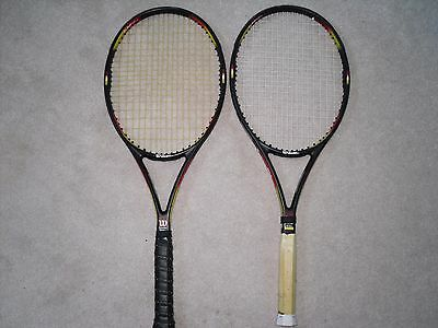 One Wilson Pro Staff Classic  6.1 Si  95 grip size 4 3/8