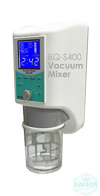 BQ-S400 Vacuum Mixer with 11 Pre-Programs For Gypsum Plaster Investment  [NEW]